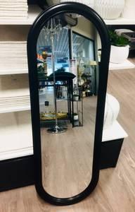 Bilde av Speil til dør og garderobe svart 36,5x107