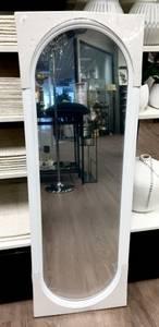 Bilde av Speil til dør og garderobe hvit 36,5x107