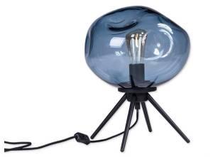 Bilde av Bordlampe blå 30x23,5