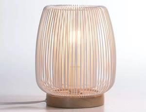 Bilde av LOM Bordlampe hvit 19,5x23