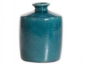 Bilde av Vase mørk turkis 16,5x21,5