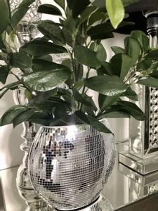 Bilde av India vase bling 20x21 cm