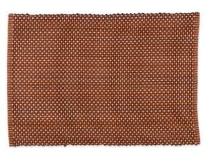 Bilde av Tuva brun/oransje kuvertbrikke 33x45