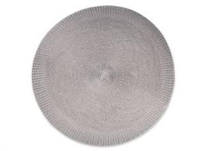 Bilde av Kuvertbrikke rund grå 38cm