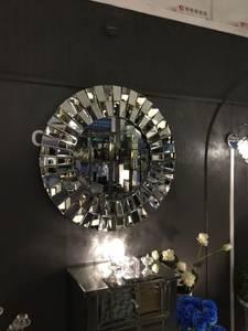 Bilde av Nydelig speil 100x100 cm
