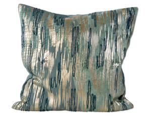 Bilde av Som- blå/grønn/gull- 45x45 cm