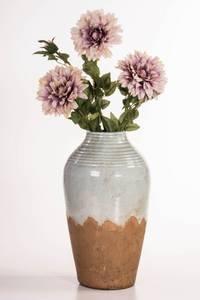 Bilde av Vase keramikk blå/brun H45,5