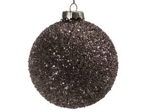 Bilde av Juletrekule brun 8cm
