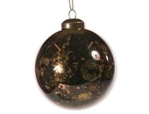 Bilde av Juletrekule grønn/gull 8cm