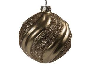 Bilde av Juletrekule gull 8cm