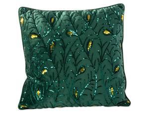Bilde av Putetrekk grønn polyester 45x45