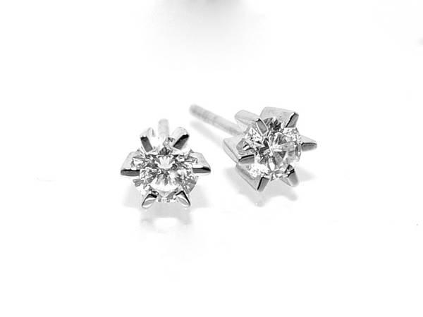 Diamantøredobber med diamanter 0.80 tw.si (585)