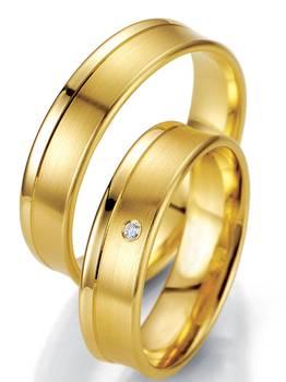 Forlovelsesringer Gult gull