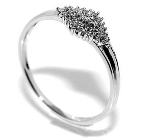 Bilde av Superdeal! Diamantring i