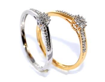 Diamantringer flersten