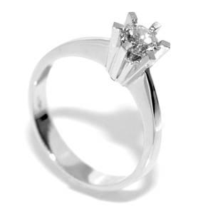 Bilde av Diamantring 0.35 tw.si
