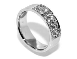 Bilde av Diamantring med