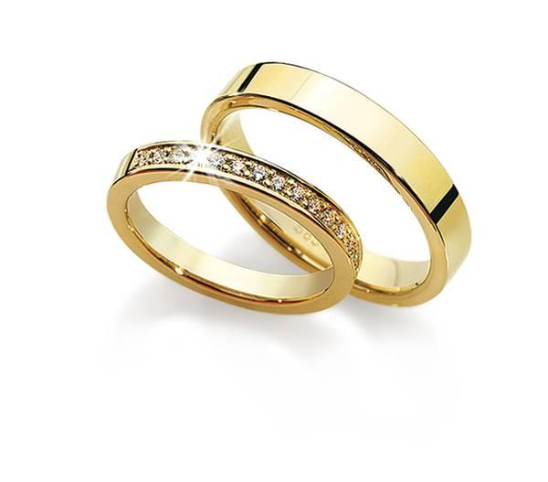 Forlovelsesringer m/diamanter 7130/4840