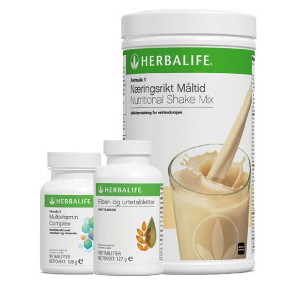 Herbalife Velvære pakke (F1+Multi+Fiber)