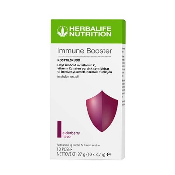 Immune Booster, 10 poser, drikk med bær