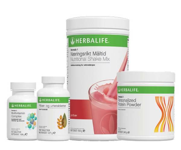 Herbalife QuickStart pakke 1 (F1+F3+Multi+Fiber)