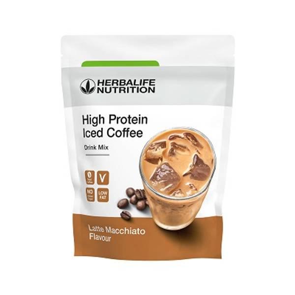 High Protein Iced Coffee - Latte Macchiato