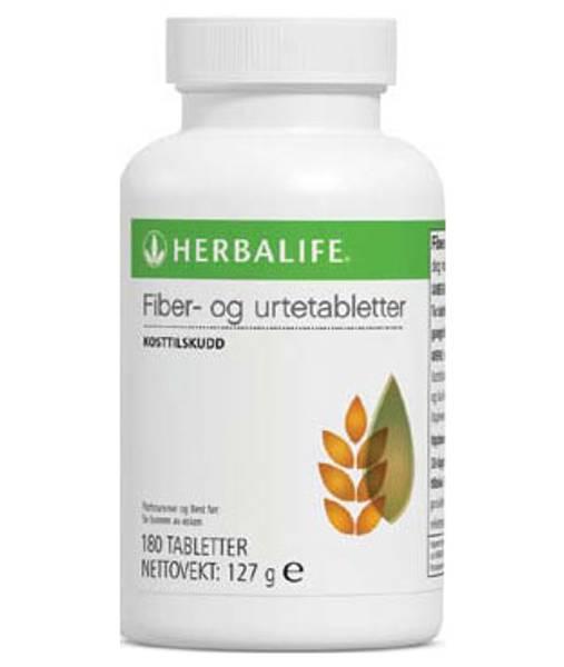Herbalife Fiber og Urtetabletter