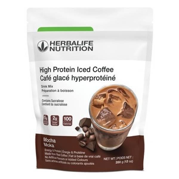 High Protein Iced Coffee - Mocha