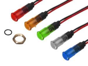 Bilde av LED indikator plastikk IP67