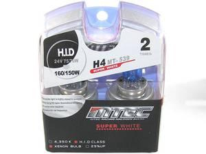 Bilde av MTEC H4 Super white 24V 70W,