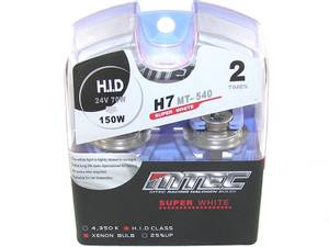 Bilde av MTEC H7 Super white 24V 70W,