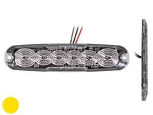 Bilde av Slim 6 LED varslingslys 12V