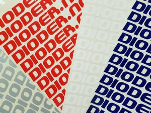 Bilde av Dioder.no klistremerke (6 x 1