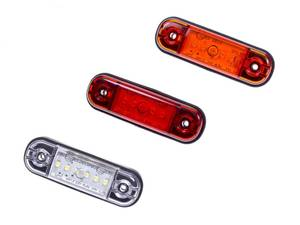 Bilde av LED markeringslykt 9-36V,