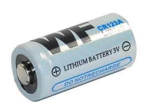 Bilde av CR123A batteri