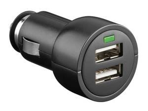 Bilde av USB lader til sigar-stikk,