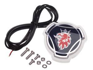Bilde av Scania emblem med LED kant,