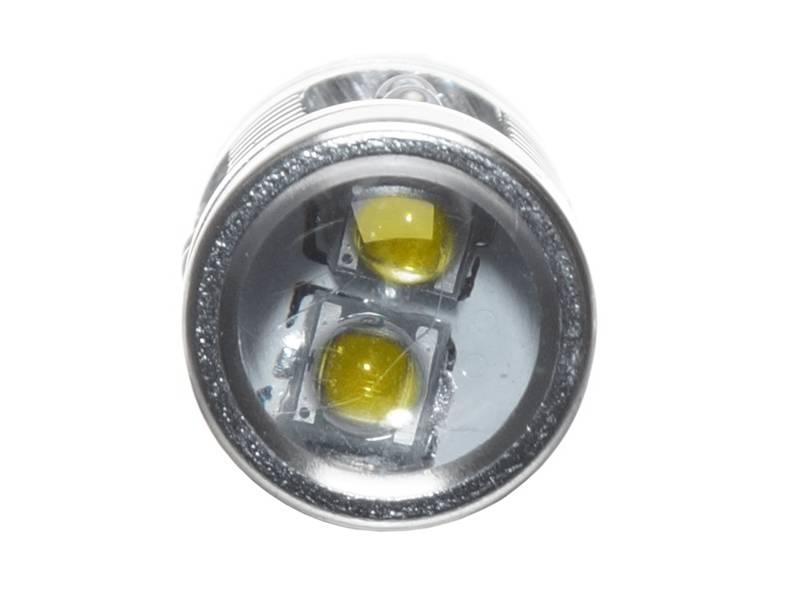 50W BAY9S/H21W Canbus - hvit Cree LED 10-30V