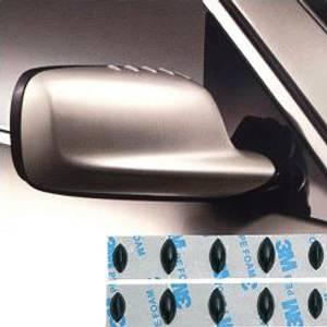 Bilde av GT-9 Speil spoiler, Sort.