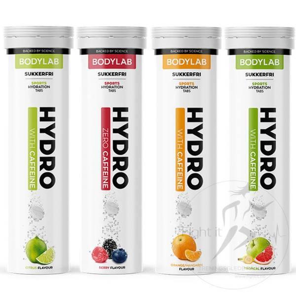 Bilde av Bodylab Hydro Tabs (20stk.) - Citrus