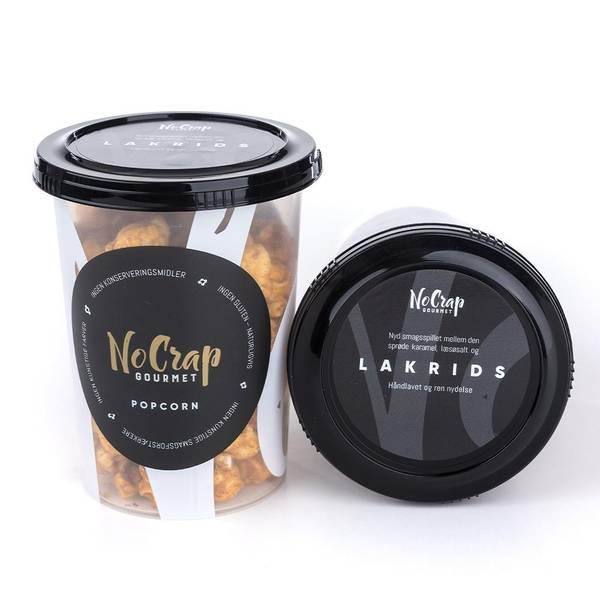 Bilde av NoCrap - Gourmet Popcorn Lakris 95g