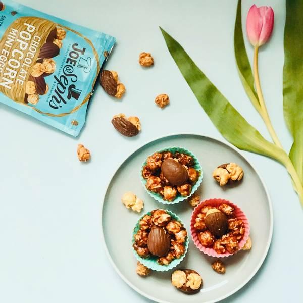 Bilde av Joe & Seph`s - Milk Chocolate & Salted Caramel Popcorn (6x63g)