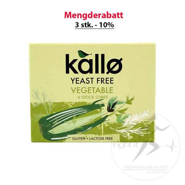 Bilde av Kallø - Grønnsaksbuljong Gjærfri (6 stk.)