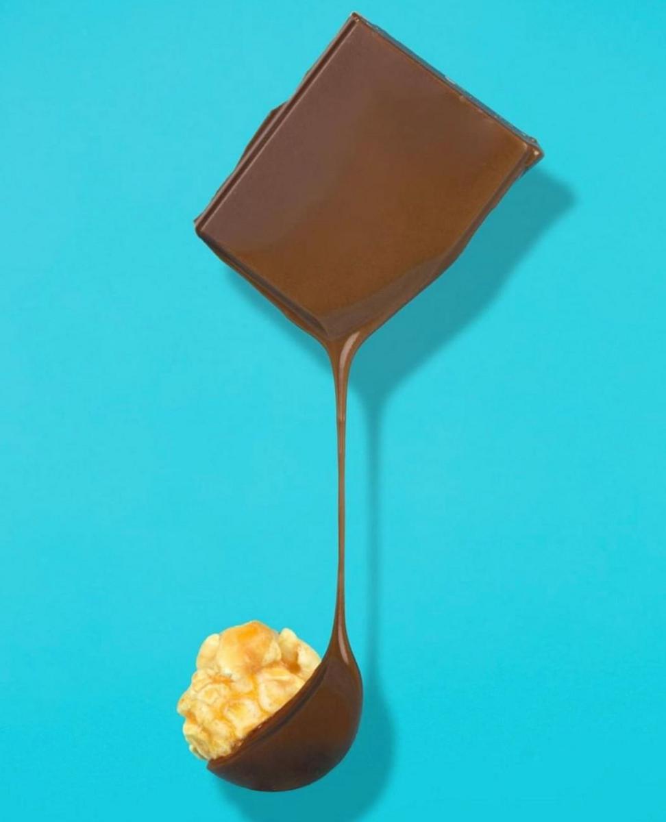 Joe & Seph`s - Dark Chocolate & Salted Caramel Popcorn (6x63g)