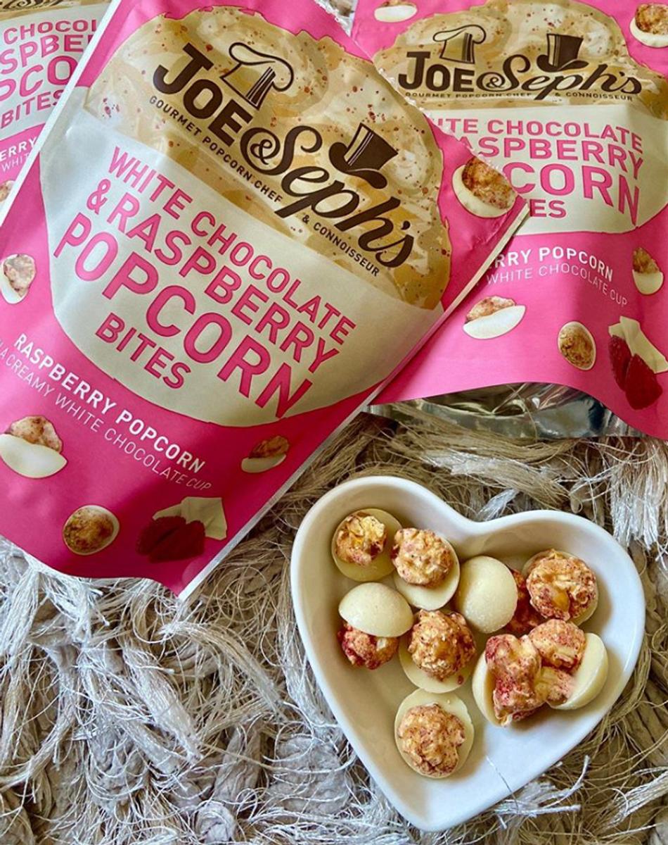 Joe & Seph`s - Dark Chocolate & Salted Caramel Popcorn Bites 63g