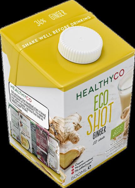 Bilde av HealthyCO - ECO Ginger Shot 500ml