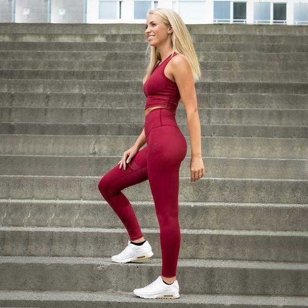 Bilde av BARA Sportswear - Wine Shape Sportbra