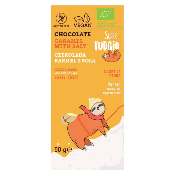 Bilde av Super Fudgio - Chocolate Caramel With Salt 50g