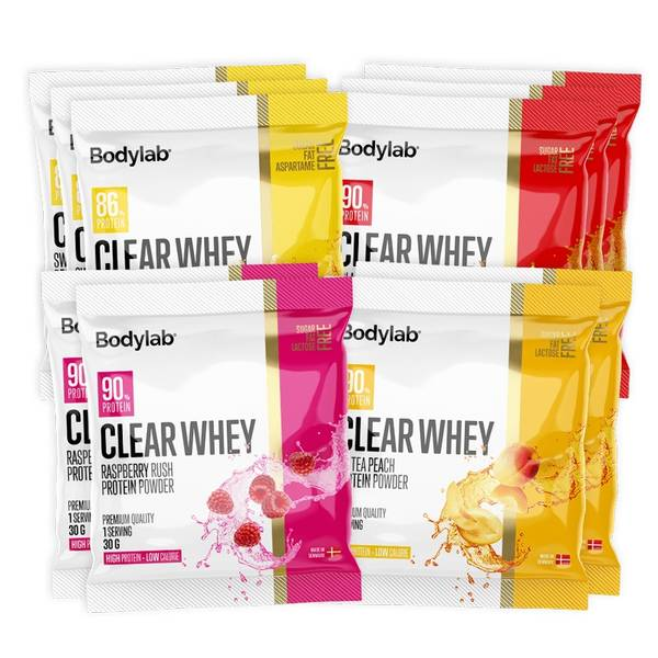 Bilde av Bodylab - Clear Whey Prøvepose 30g