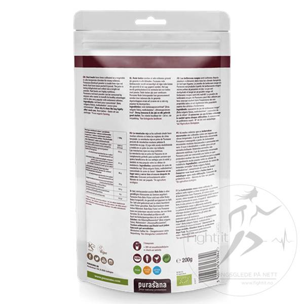 Bilde av Purasana - Beetroot Juice Powder 200g